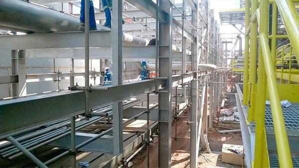 Pipe rack industrial